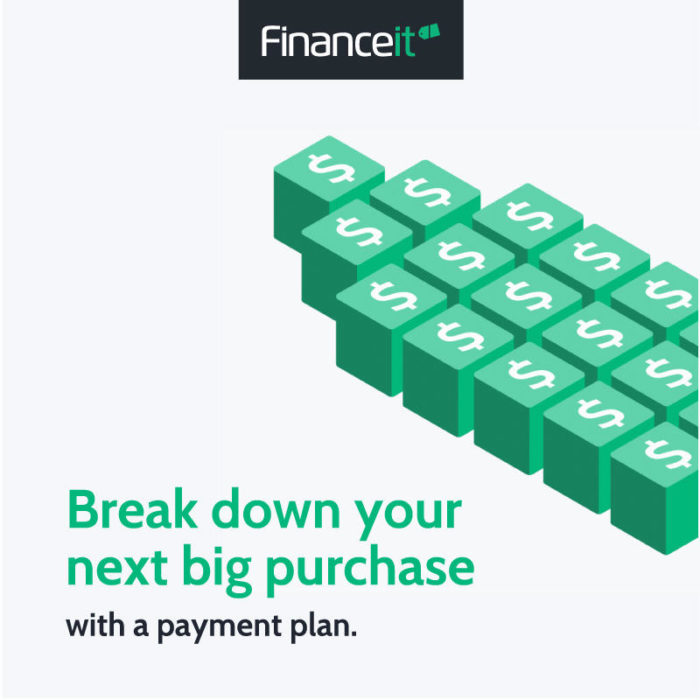 Financeit Break down your next big purchase