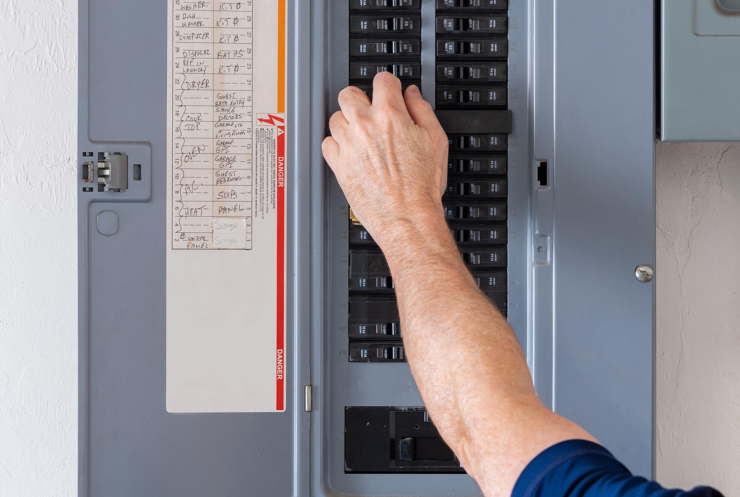home electrical panel